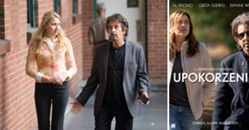 """Al Pacino i Greta Gerwig w """"Upokorzeniu"""" – ekranizacji bestsellerowej powieści Philipa Rotha. Polska premiera na Cineman VOD."""