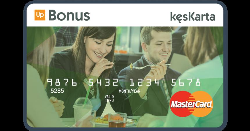 Up Bonus wprowadza kęsKartę™ – absolutną nowość na rynku kart żywieniowych