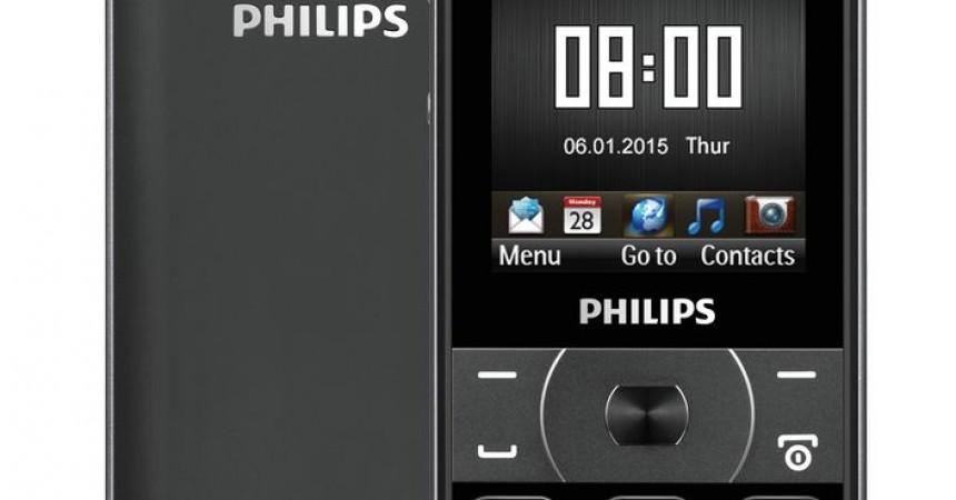 Philips Xenium E560 –biznesowy, elegancki telefon pracujący nawet 73 dni bez ładowania