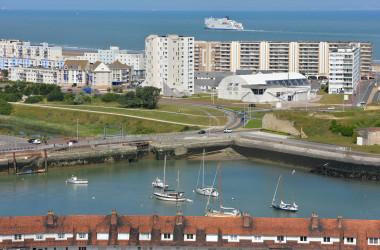 Port w Calais a problem imigrantów