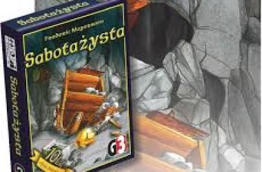Sabotażysta – fajna gra karciana – instrukcja skrócona