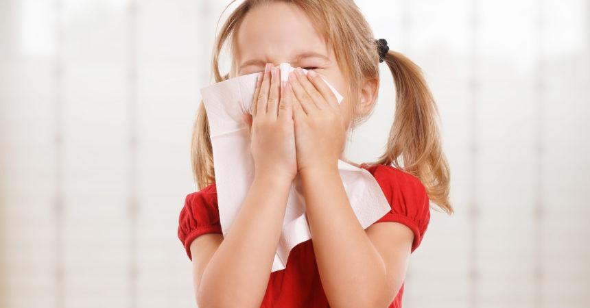 Jak objawia się alergia u dzieci?