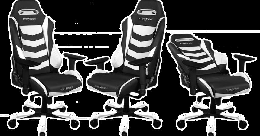 DXRacer – futurystyczne fotele gamingowe