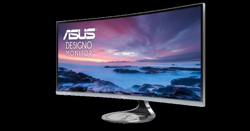 ASUS przedstawia Designo Curve MX34VQ