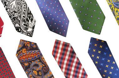 Najmodniejsze krawaty męskie