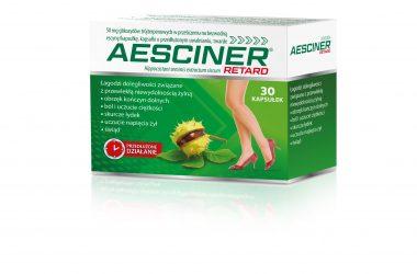Aesciner® Retard – gdy masz problem z obrzękami