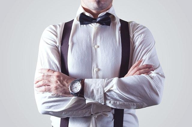 Szelki męskie nie tylko podtrzymują spodnie, ale dodają także klasy