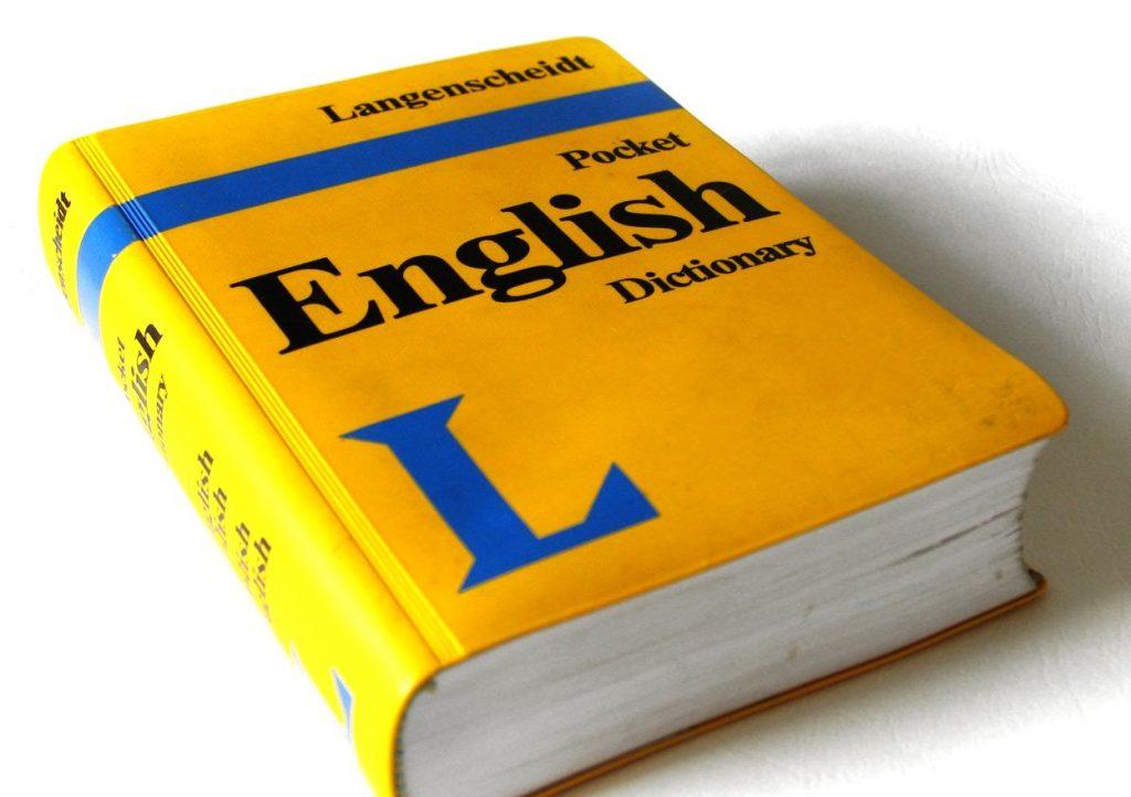 kieszonkowy słownik języka angielskiego