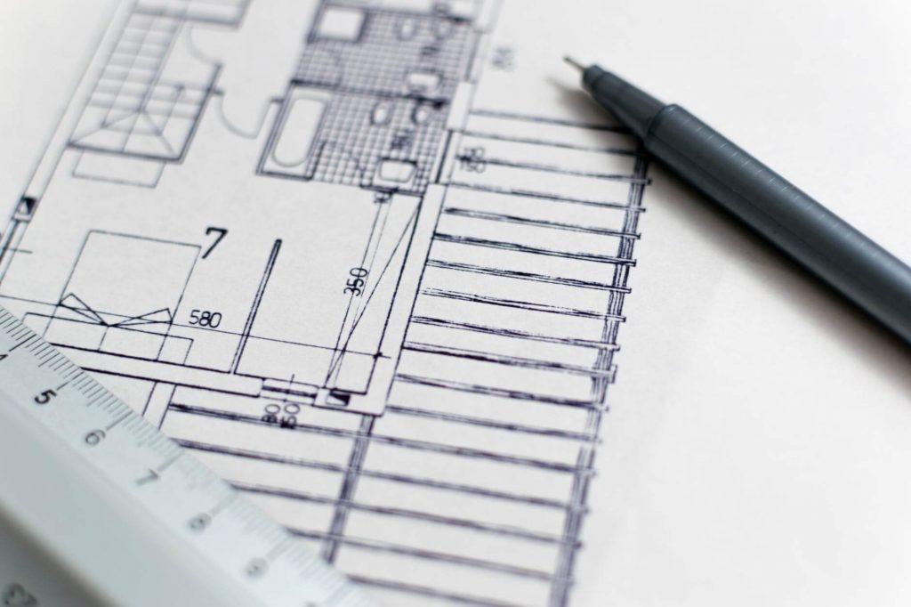 plany architektoniczne muszą wykonane być z ogromną precyzją