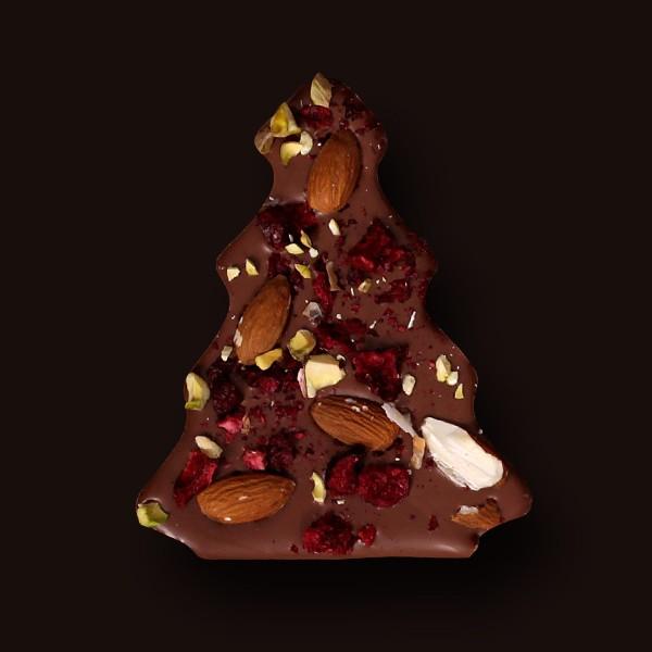 choinka z mlecznej czekolady