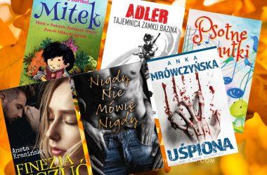 Książki na jesień – polecane książki