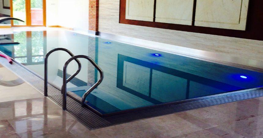 Zalety basenów ze stali nierdzewnej
