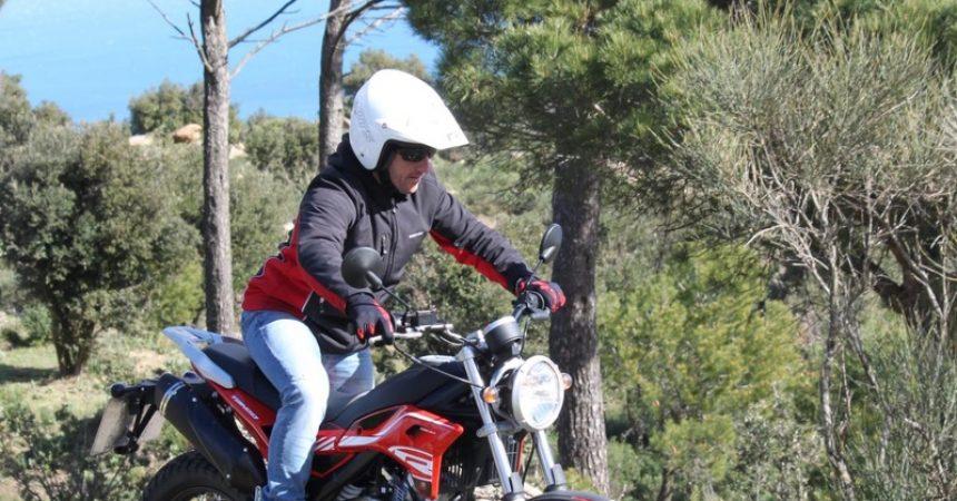 Motocykl Rieju Tango na prawo jazdy kat. B